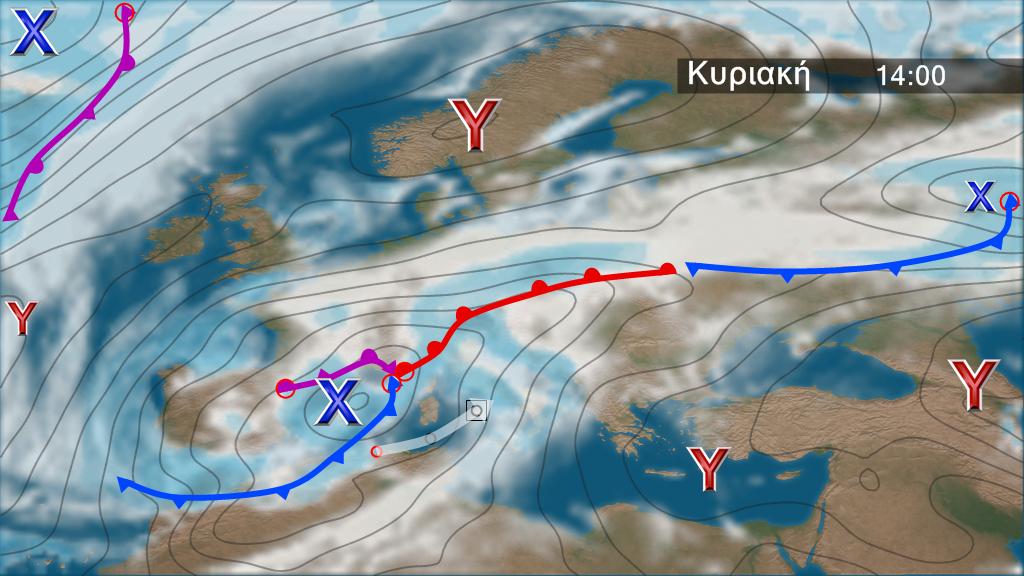 Europe rain