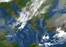 Δορυφορικη Φωτο της 12ης Ιανουαρίου 2019