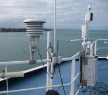 Μετεωρολογικός σταθμός σε πλοια